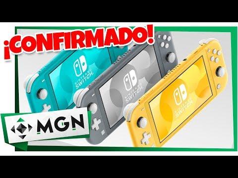 Nuevo Nintendo Switch Lite: 5 Cosas Que Debes Saber | MGN