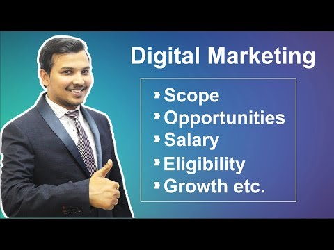 Digital Marketing Scope, Opportunity, Salary, Eligibility, Growth, Career etc in Hindi