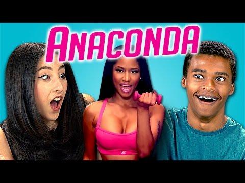 Teens React to Nicki Minaj - Anaconda