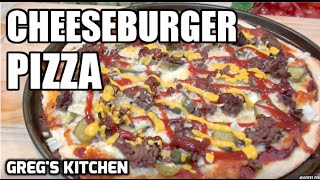 HOW TO MAKE CHEESEBURGER PIZZA - Greg's Kitchen
