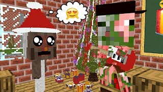 Monster School: [Christmas Special] GRANNY HORROR AS A NEW STUDENT - Minecraft Animation