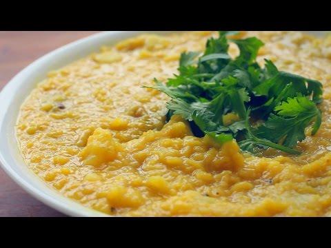 RED LENTIL & SWEET POTATO STEW RECIPE! / Simple fall comfort food