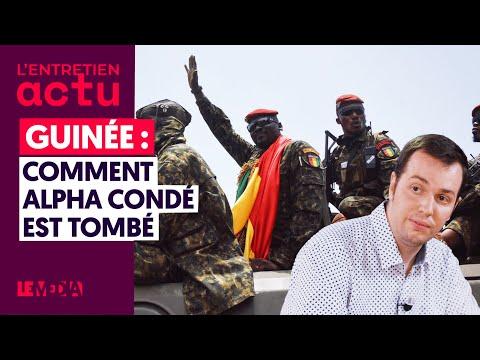 GUINÉE : COMMENT ALPHA CONDÉ EST TOMBÉ