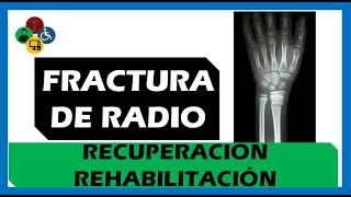 Fractura distal de Radio - Tipos y Tratamiento