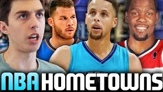 WHAT IF EVERY NBA PLAYER PLAYED FOR THEIR HOMETOWN TEAM? NBA 2K16 MY LEAGUE