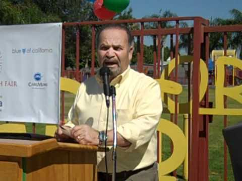 AccessCal: Dr. Haithem at Health Fair 2010