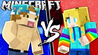 JOEY VS. GAMERBURRY | Minecraft Build Swap