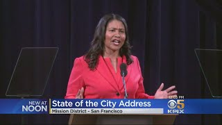 Mayor London Breed Focuses On Housing And Homelessnes In State Of The City Address