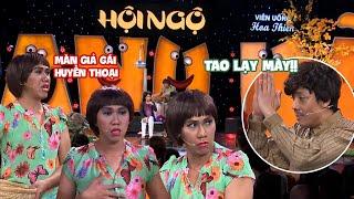 Anh Đức và màn giả gái huyền thoại khiến Trấn Thành, Việt Hương nổi điên | Hội Ngộ Danh Hài