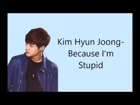 SS501 - Because I'm Stupid lyrics [Eng/Rom]