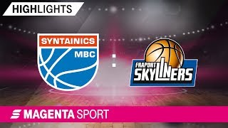 SYNTAINICS MBC - FRAPORT SKYLINERS | 7. Spieltag, ...