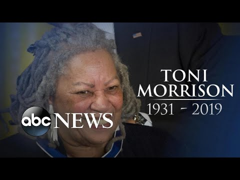 Revered author Toni Morrison dies at 88