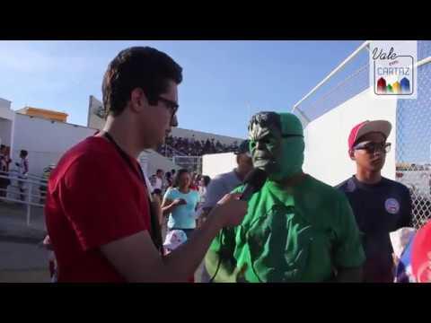 Vale Em Cartaz - A alegria dos torcedores na partida Juazeirense X Bahia