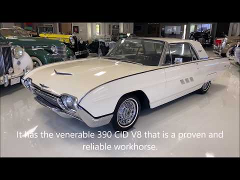 video 1963 Ford Thunderbird Coupe
