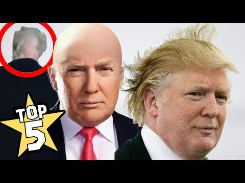 TOP 5   DONALD TRUMP'S HAIR SHOCKING FACTS