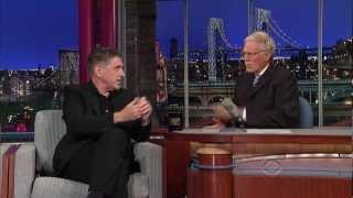 Craig Ferguson Visits Letterman - Oct 2012