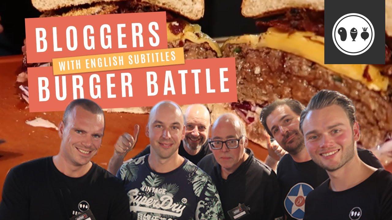 De ultieme BBQ Burger Battle bij de Weber Original Store