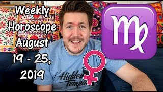 Weekly Horoscope for August 19 - 25, 2019 | Gregory Scott Astrology