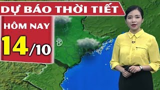 Dự Báo Thời Tiết Hôm Nay Mới Nhất ngày 14/10/2018   Dự báo thời tiết 3 ngày tới   THND - YouTube