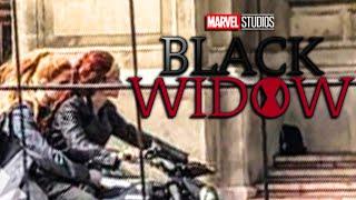 LEAKED BLACK WIDOW SET FOOTAGE Full Clip and Scene Breakdown