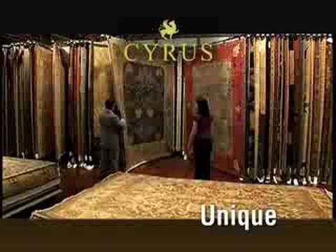 Cyrus Artisan Rugs Grand Opening TV Commercial in Minneapolis, Minnesota