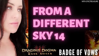Dragon's Dogma FROM DIFFERENT SKY 14 Deos Badge of vows