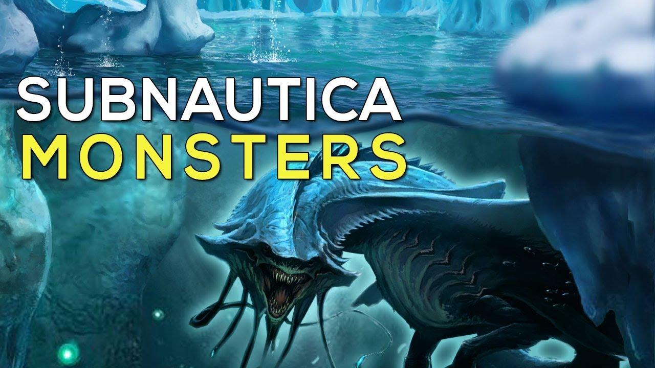 Most Terrifying Creatures in Subnautica Below Zero