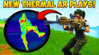 *NEW* THERMAL AR BEST PLAYS! - Fortnite Funny Fails and WTF Moments! #224 (Daily Moments)
