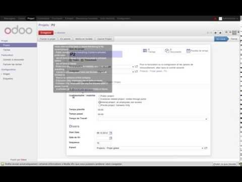 Odoo V8 Project Management 2