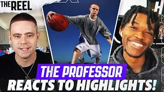 THE PROFESSOR REACTS TO THE PROFESSOR HIGHLIGHTS!   THE REEL S2 WITH @KOT4Q