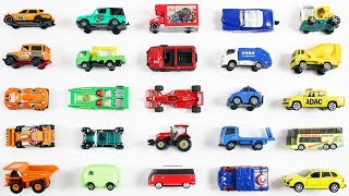 Learn Colors With Vehicles For Kids Children Babies Toddlers   Street Vehicles   Colors Song   Toys