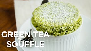 How to Make Green Tea (Matcha) Souffle