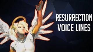 Resurrection Voice Lines [Overwatch]