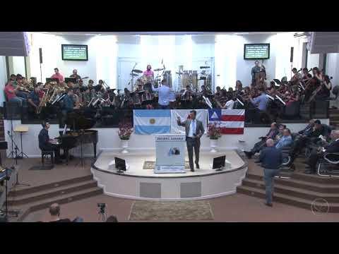 Orquestra Sinfônica Celebração - Harpa Cristã   Nº 48   O dia do triunfo de Jesus - 08 12 2019