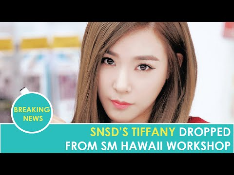 SNSD's Tiffany Reportedly Dropped From SM Entertainment's Hawaii Workshop