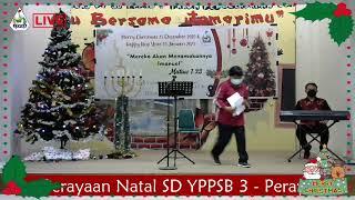 Perayaan Natal SD YPPSB 3