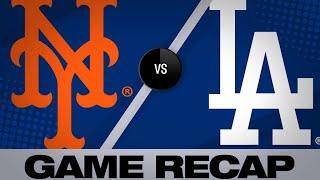 5/27/19: Bellinger, Hernandez lift Dodgers to win