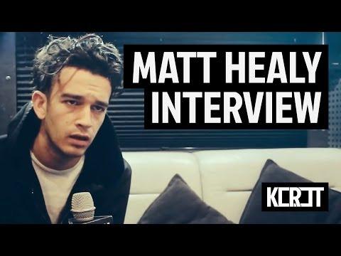 Interview with Matt Healy from The 1975 // Flex, Wien // 2013.11.28.