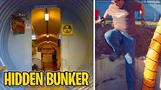 Man Digging in Backyard Finds HIDDEN UNDERGROUND Apocalyptic BUNKER