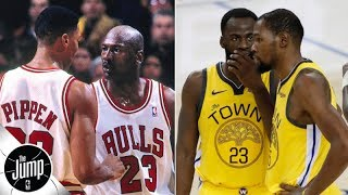 The 1990s Bulls overcame drama better than these Warriors - Scottie Pippen | The Jump