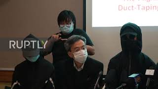 Hong Kong: Not enough protective equipment for medical workers, citizens group claims