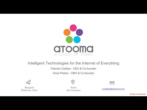 Atooma - Intelligent Technologies for the Internet of Everything