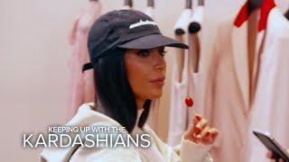KUWTK | Kim Kardashian West's Shopping Trip Turns Scary | E!