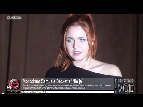 """Monodram Samuela Becketta """"Nie ja"""""""