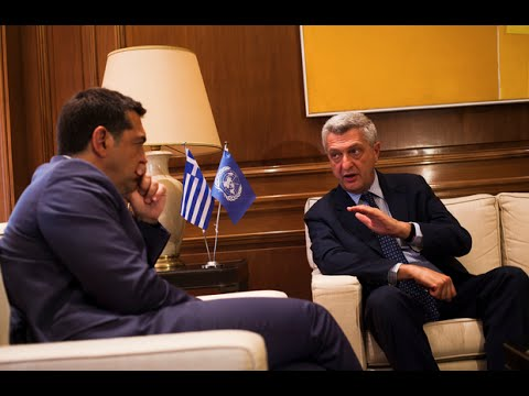 Greece: Greek Prime Minister meets High Commissioner for Refugees