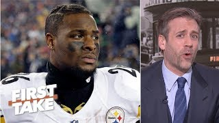 Pittsburgh Steelers' message to Le'Veon Bell failed - Max Kellerman | First Take