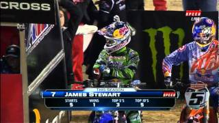 2012 AMA Supercross San Diego Round 6 Part 1