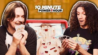 MEGA Board Game MASH-UP! Uno + Operation - Ten Minute Power Hour