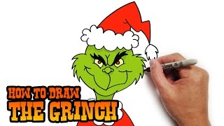 How to Draw The Grinch- Easy Art Lesson