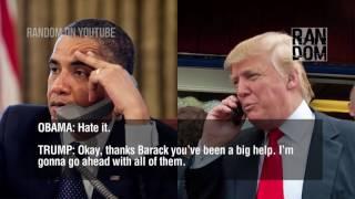 Trump calls to obama pt 2
